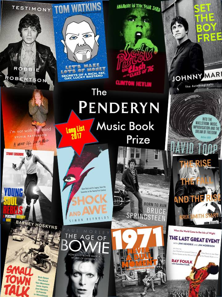 Penderyn Prize 2017 Long List Announced