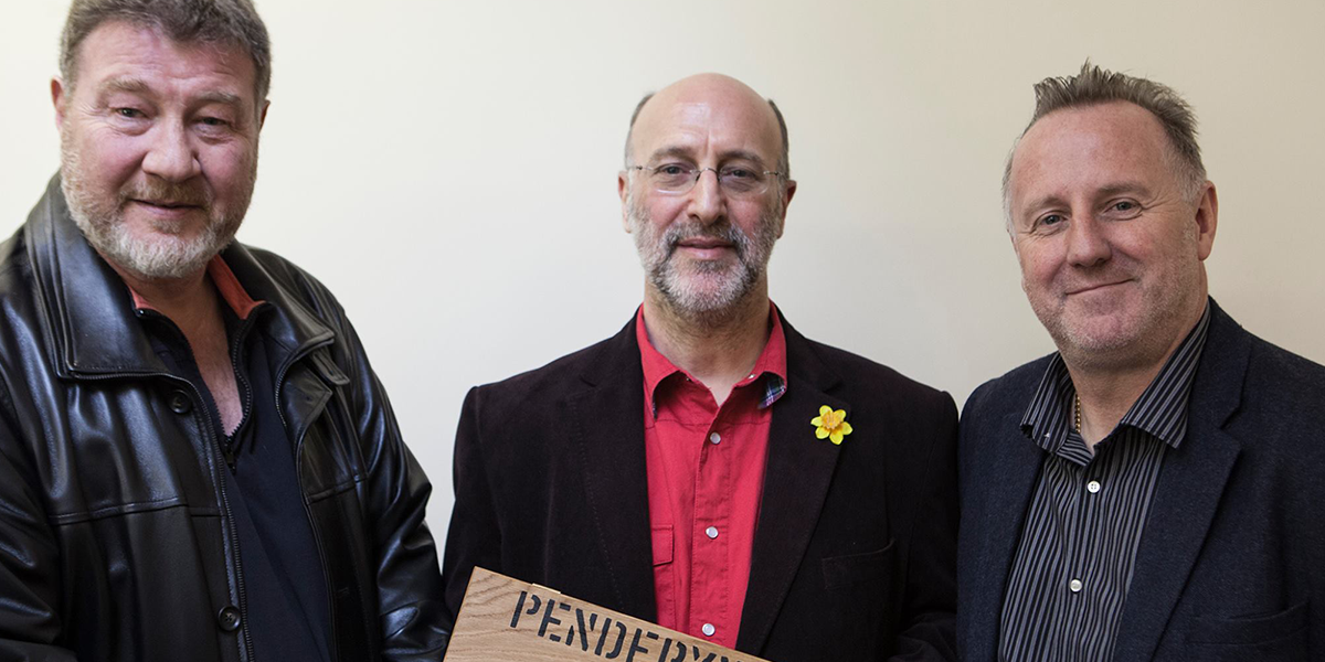 Director Nigel Short, Author Mark Lewisohn & Chief Exec, Stephen Davies