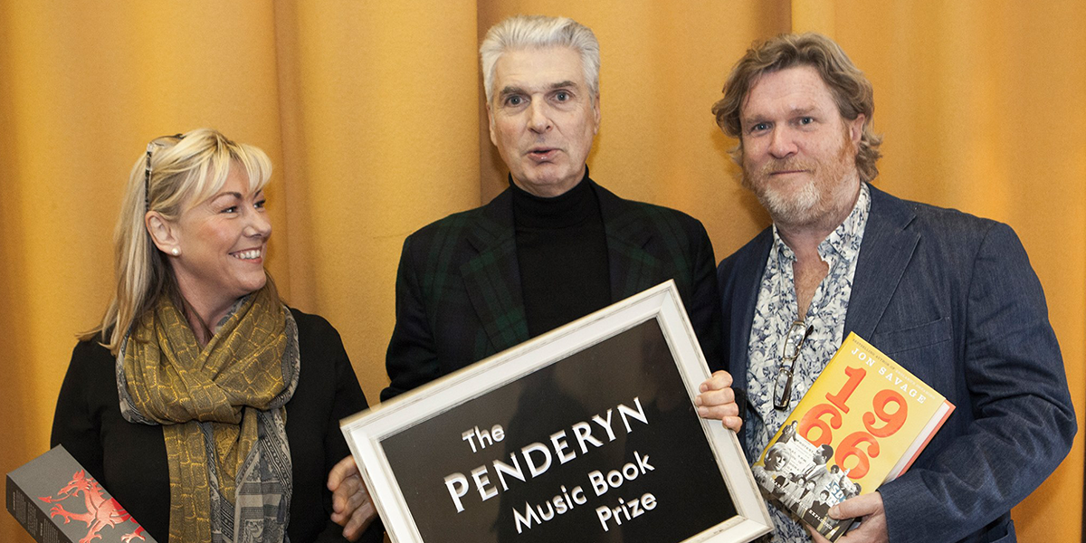 Brand Director Sian Whitelock, Penderyn Prize 2016 winner Jon Savage, and Media Manager Jon Tregenna